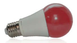 Ampoule LED 9W, Rouge, E27