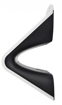 Applique LED Solaire 3.2W Blanc -2