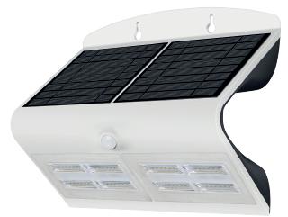 Applique LED Solaire 6.8W Blanc