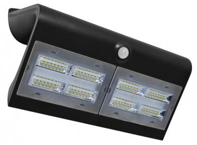 Applique LED Solaire 6.8W Noir -1