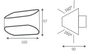 Dimension Applique 3W -32