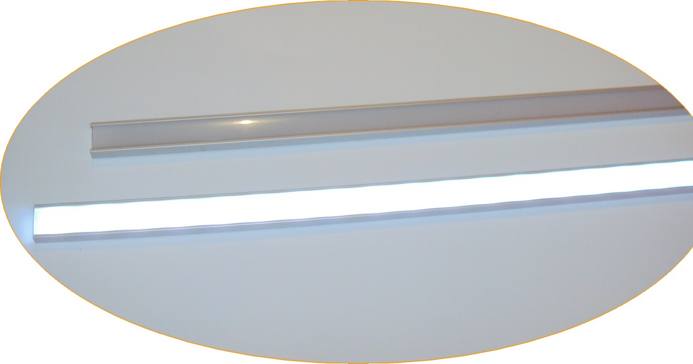 Profile alu anodisé (3) AB POWER LED