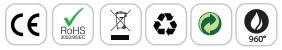 Logo piquet projecteur