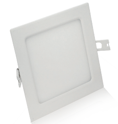 Pavé à LED 10W Blanc chaud 145x145 Finition Blanc