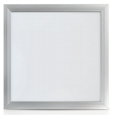 Pavé à LED 18W Blanc Chaud 297x297 Finition Alu