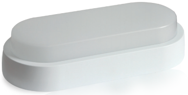 Plafonnier LED Saillie 12W Blanc neutre IP65 Finition Blanc