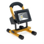 Projecteur LED 10W Portable et Rechargeable IP65 Jaune
