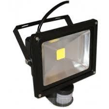 Projecteur à LED 20W avec détecteur de mouvement Noir