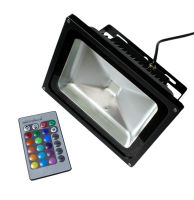 Projecteur à LED 20W RGB Noir AB POWER LED